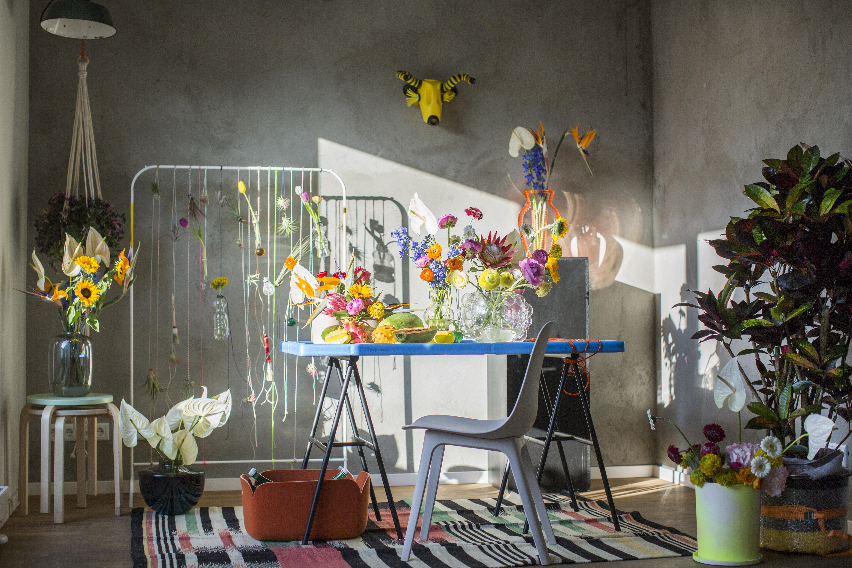 Interieur- und Garten- Trend Re-assemble | Blumenbüro