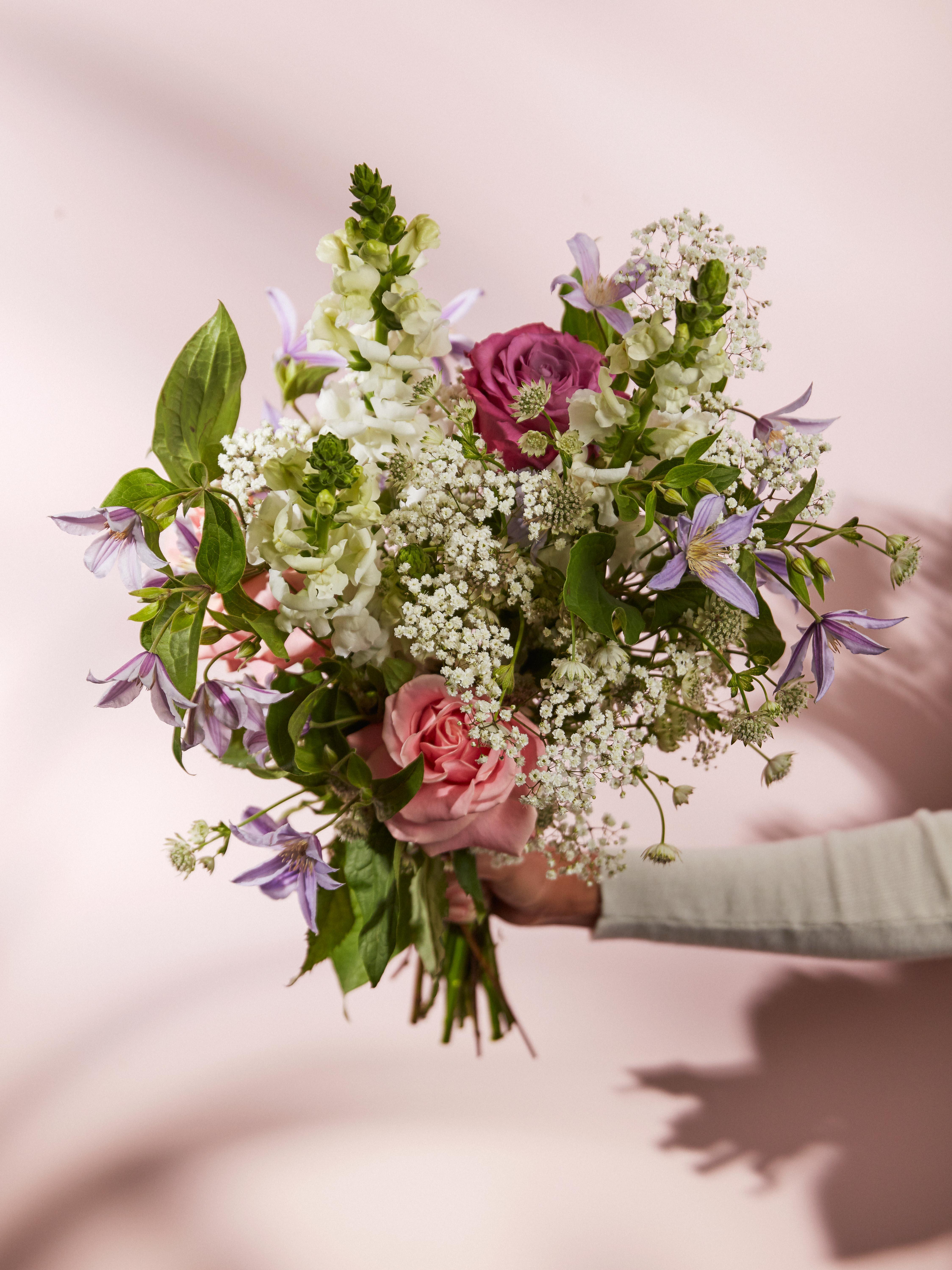 Bouquet sans pollen