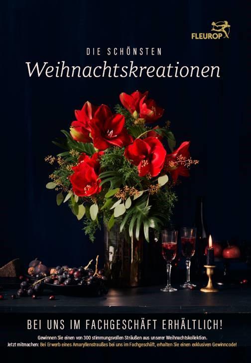 Shopper activatie amaryllis bij Fleurop Duitsland