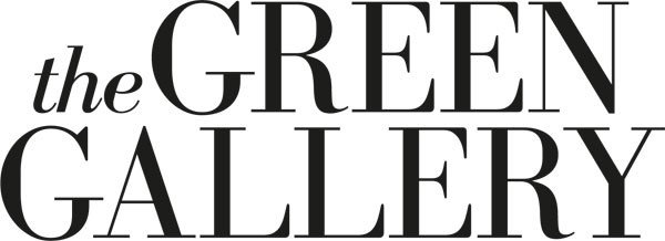logo The Green Gallery wit